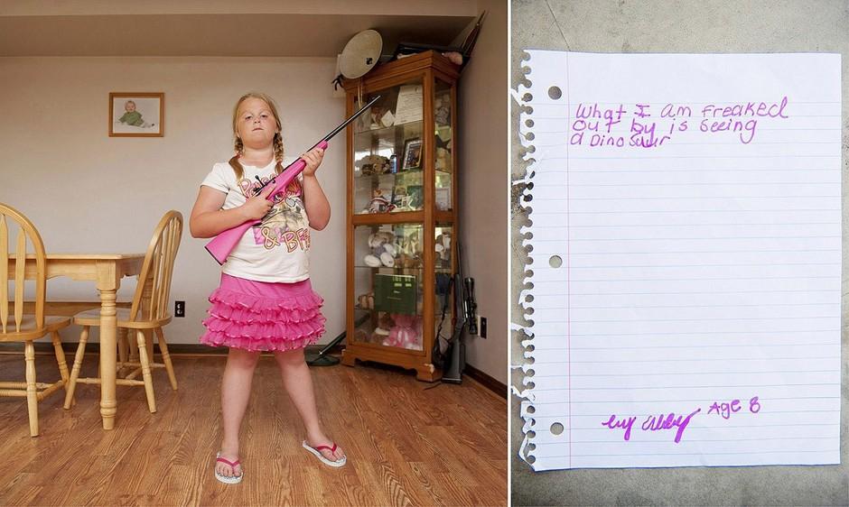 人像摄影:正太萝莉和枪