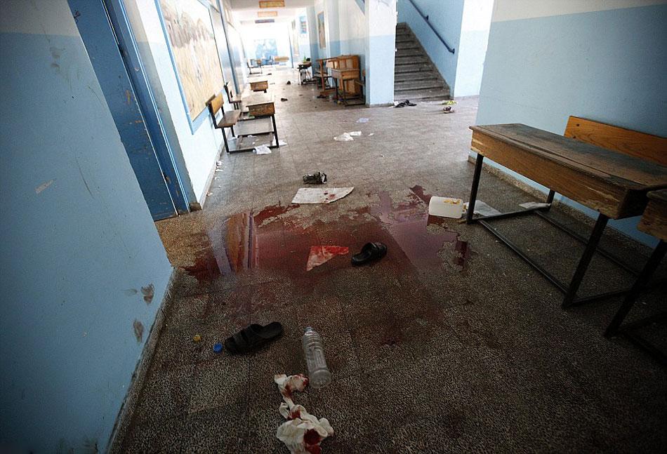 以色列袭击加沙联合国学校致15人死亡