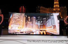 三星105英寸曲面电视开卖:售价等同宝马M5