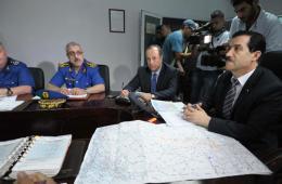 阿尔及利亚交通部长开会讨论失联客机搜救事宜