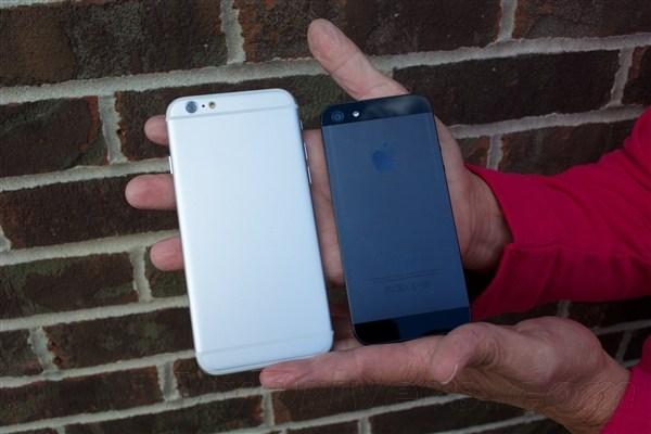 差别有多大 iPhone6对比iPhone5 5S图赏