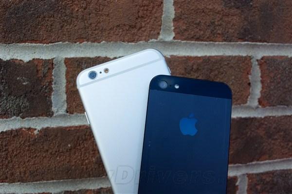 差别有多大? iPhone6对比iPhone5/5S图赏