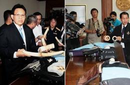 中国女子走私象牙 泰国机场被捕