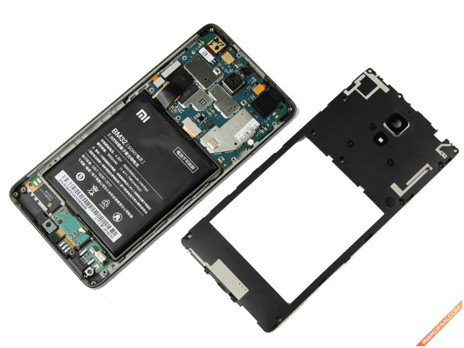 超低维修难度 小米手机4拆机