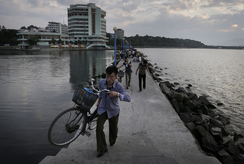 走进朝鲜元山 领略旅游特区别样风貌