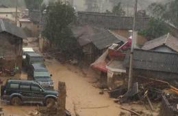 云南保山发生山洪灾害 致5死3失踪