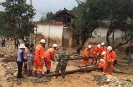 云南保山山洪灾害已致5人遇难3人失踪