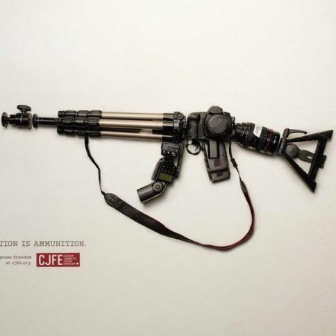 相机是枪炮,影像是力量