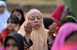 多国穆斯林迎接开斋节