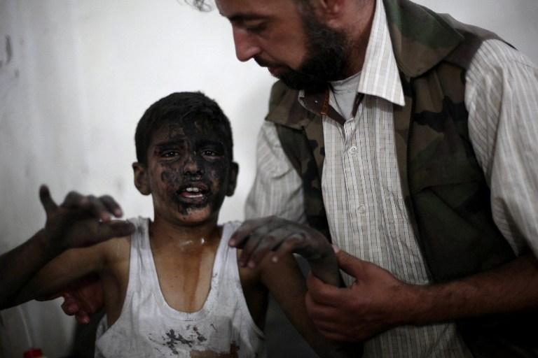 叙内战已造成17万人丧生 近半国民流离失所