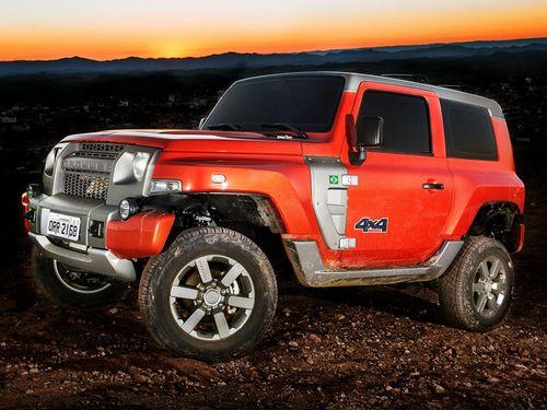 福特巴西公司推出全新SUV 越野硬汉