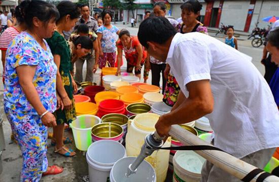 中国13省区逾7千万亩作物受旱 160万人饮水困难