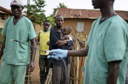 埃博拉病毒肆虐几内亚