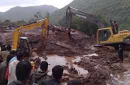 印度发生山体滑坡 已致19人死亡愈百人遭掩埋