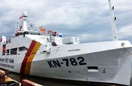 越南1个月服役两艘最强渔监船