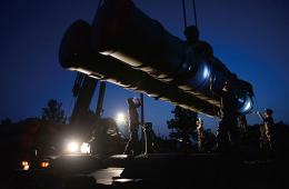 沈空导弹某旅夜间紧急实战拉练