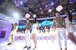 2014ChinaJoy盛装开幕腾讯应用宝成最受欢迎展台