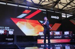 CJ现场见证神器降临 AMD新处理器全新登场