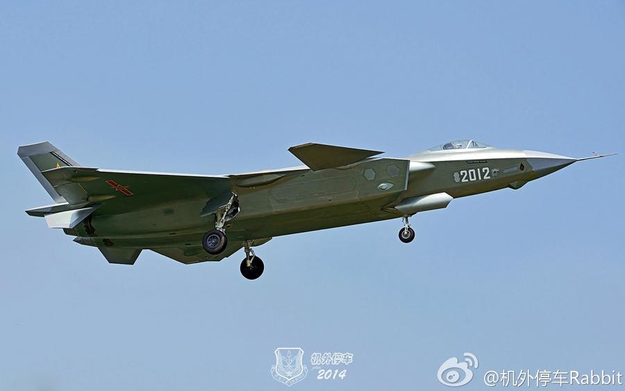 台媒:美军认为中国四代机接近F22 专家却说2流