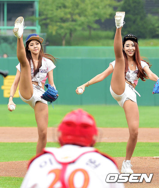 韩国棒球宝贝热舞 上下失守