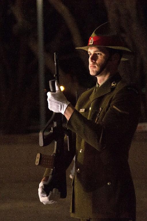 新西兰一战百年纪念日举行庆典 鸣响百枚礼炮