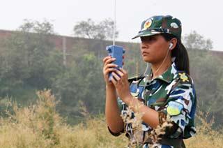 无线电测向训练认真测听