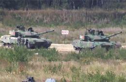 坦克大赛我军96A未知原因停车