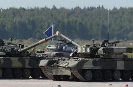 """俄罗斯""""坦克两项-2014""""国际竞赛开赛"""
