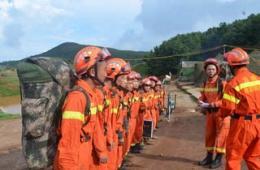 第14集团军工兵团奔赴云南灾区