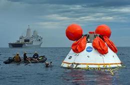 美猎户座宇宙飞船二次回收测试
