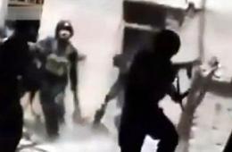 新疆警方公布和田围歼暴徒画面