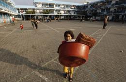 以军摧毁哈马斯地道 巴难民离开联合国避难学校