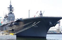 日本出云号准航母最新进展曝光