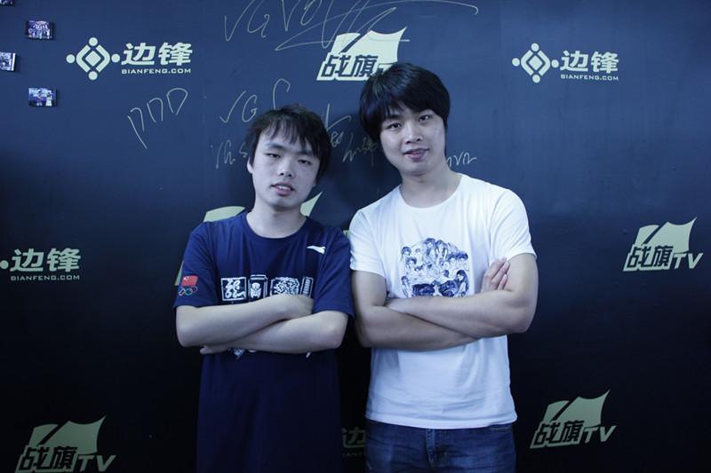 """战旗TV签约主播""""人皇""""Sky降临边锋CJ展台对战亲弟弟"""