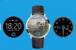 微软智能手表概念图 设计华丽功能惊艳