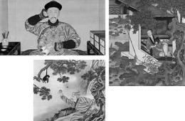 """《雍正行乐图》走红网络 """"萌萌哒""""故宫更有味"""