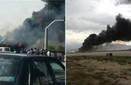 一架载50人客机在伊朗首都坠毁 造成至少48人遇难