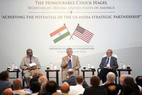 美国防长:印度无需在美国与中国之间进行选择
