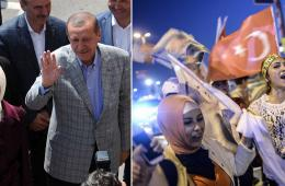 土耳其现任总理埃尔多安赢得大选 支持者狂欢