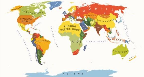 不同国家矢量图