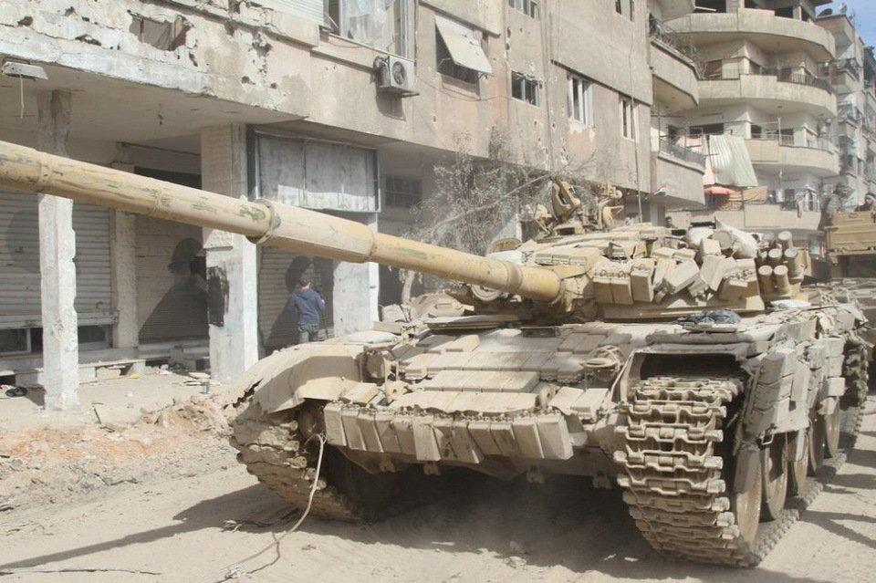 巴沙尔/武装到牙齿的叙利亚T72坦克(4/5)