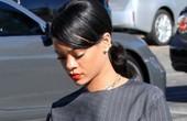 蕾哈娜8月12日洛杉矶街拍