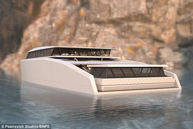 意大利设计师推出超级豪华游艇