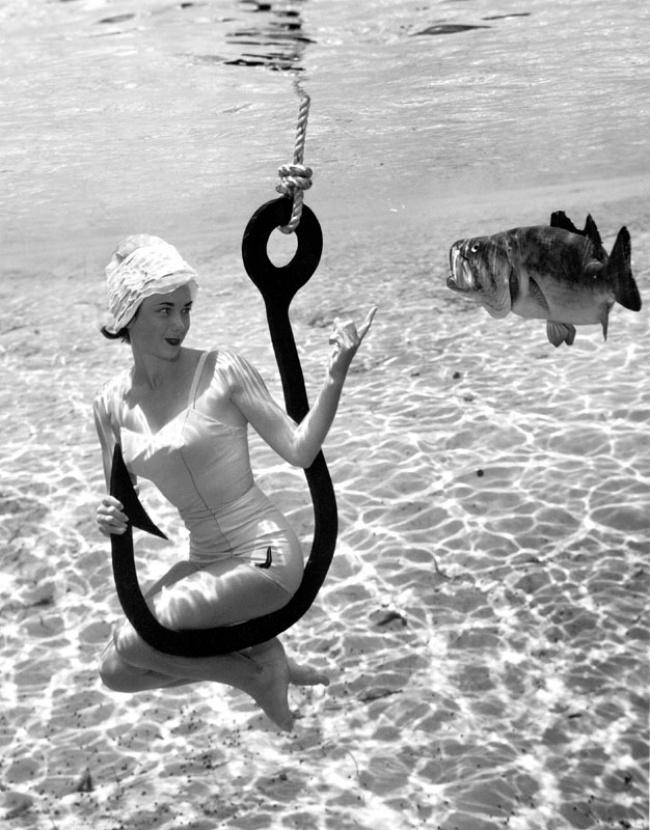 人像摄影:1938年的水下摄影