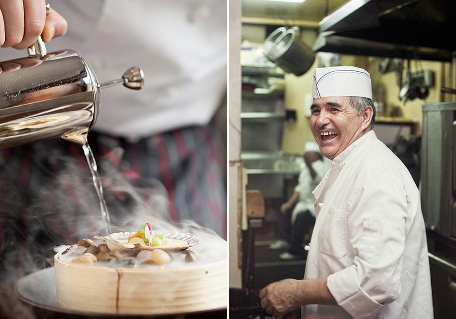 商业摄影:厨师和招牌菜