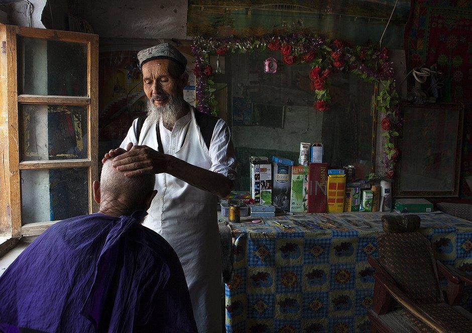 纪实摄影:维吾尔的微笑