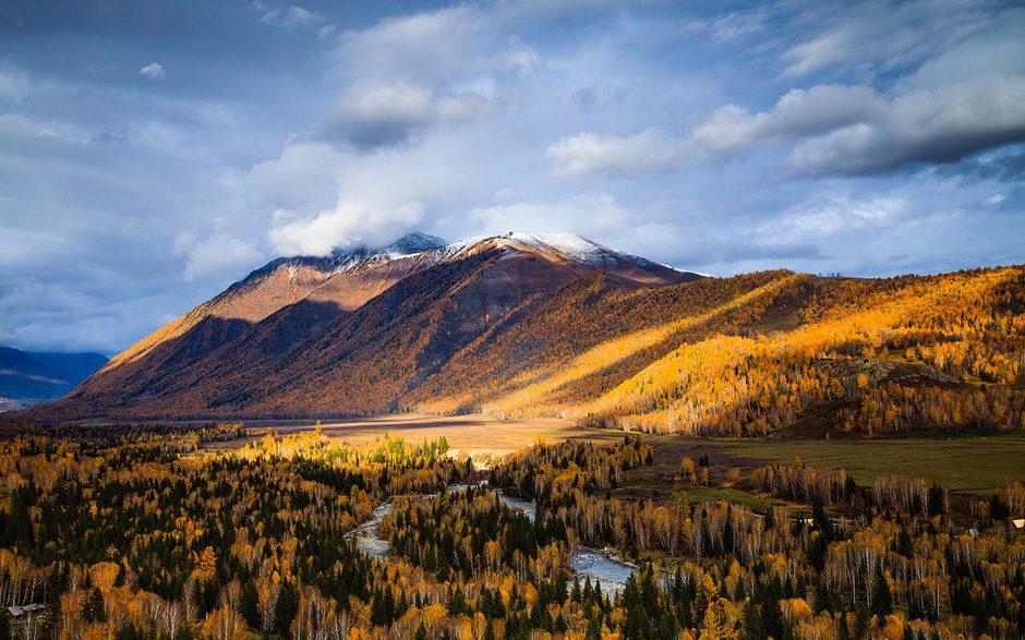 大美新疆风景画