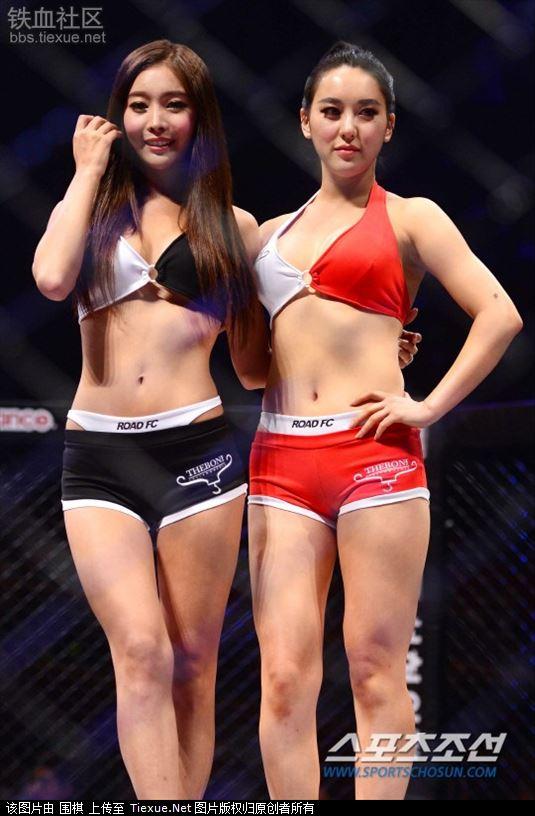 韩国综合格斗:美女拳手激战