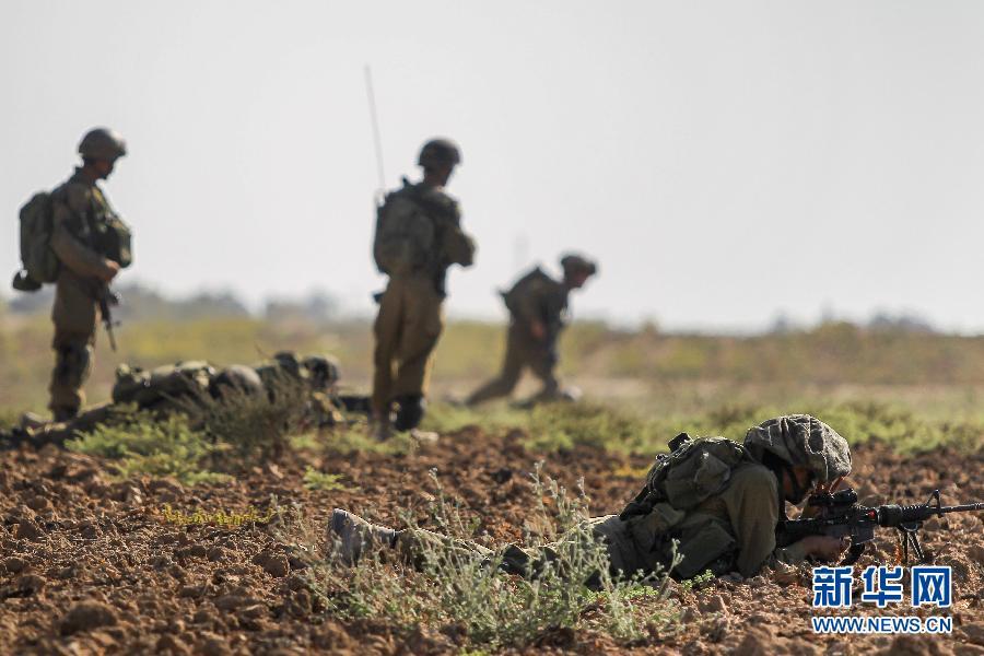 以色列称对加沙火箭弹袭击做出报复性回击