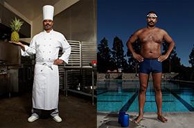 人像摄影:游泳者的日常